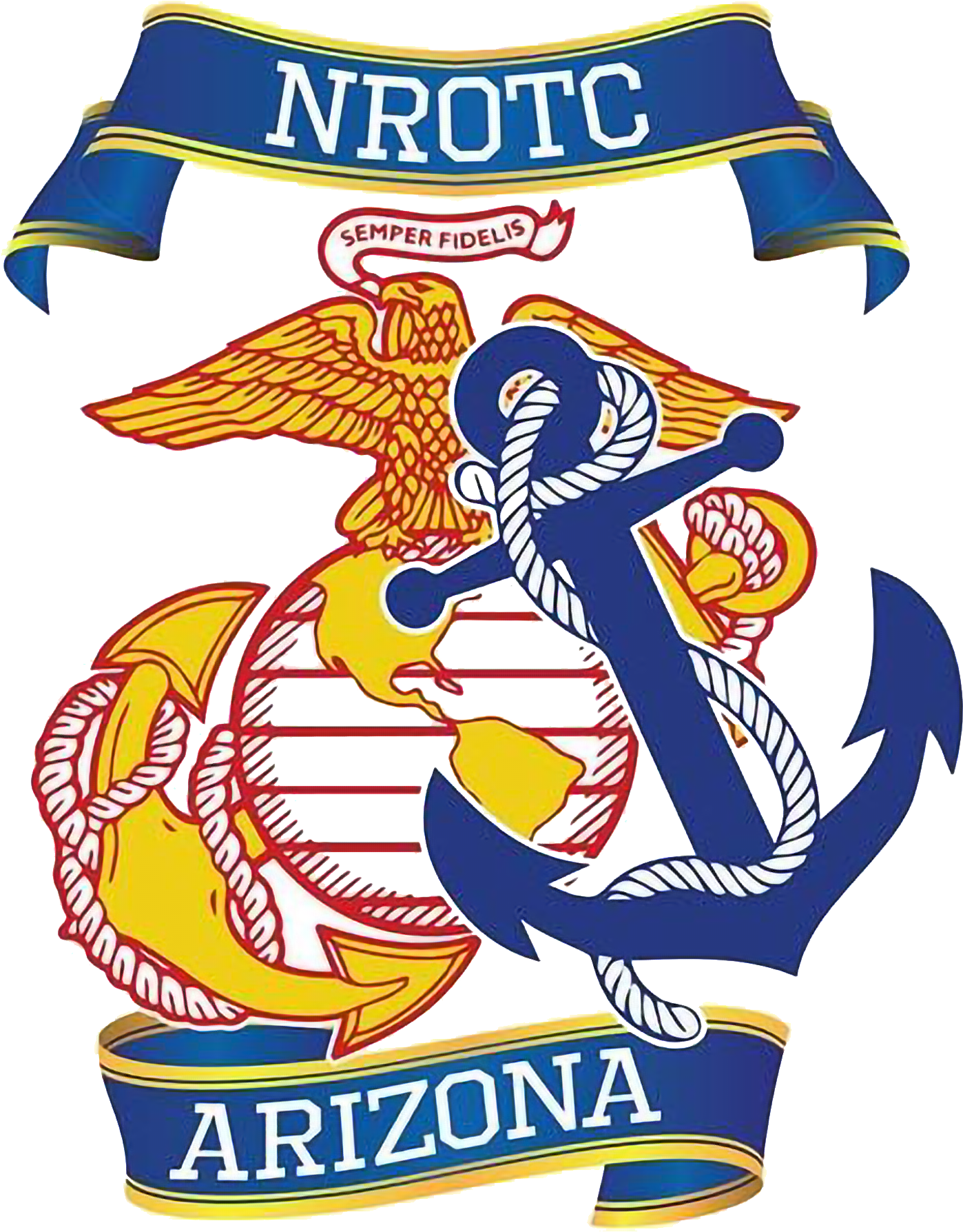 University of Arizona NROTC Logo