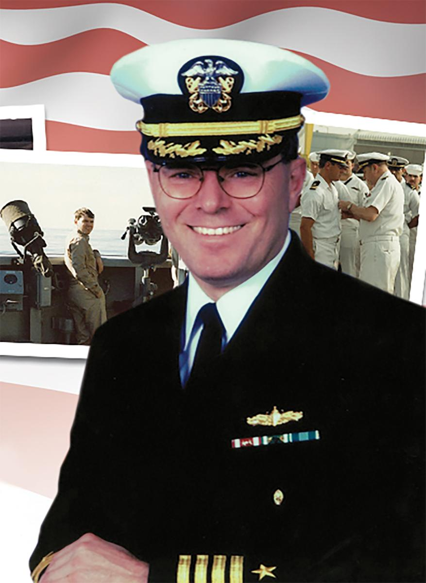 Captain Robert Firehammer, U.S. Navy