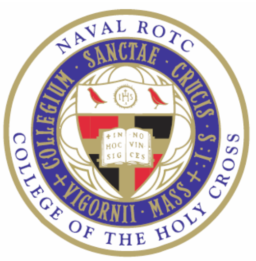 College of the Holy Cross NROTC Seal