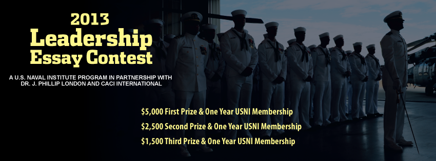 leadership essay contest u s naval institute winners