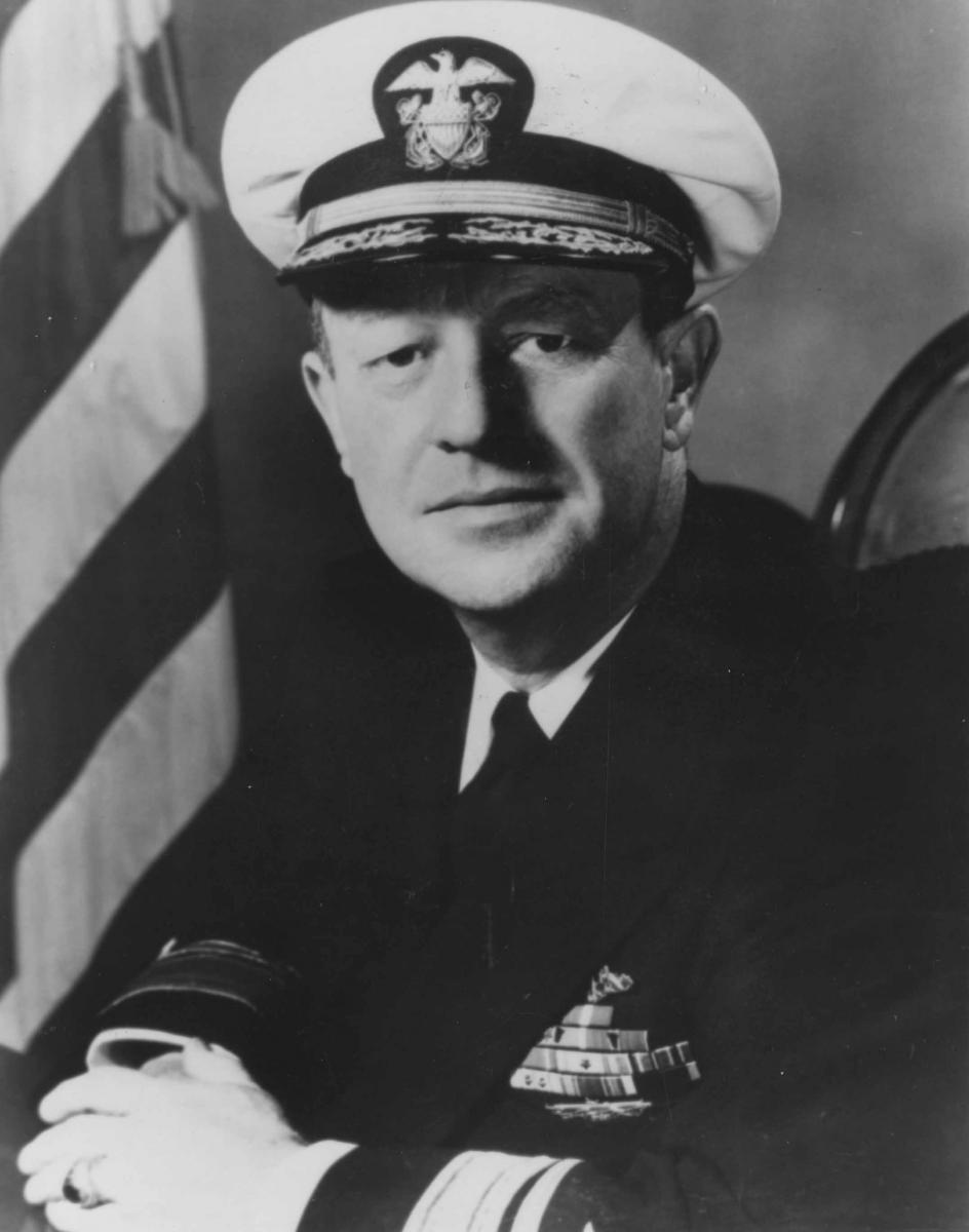 Rear Admiral William D. Irvin
