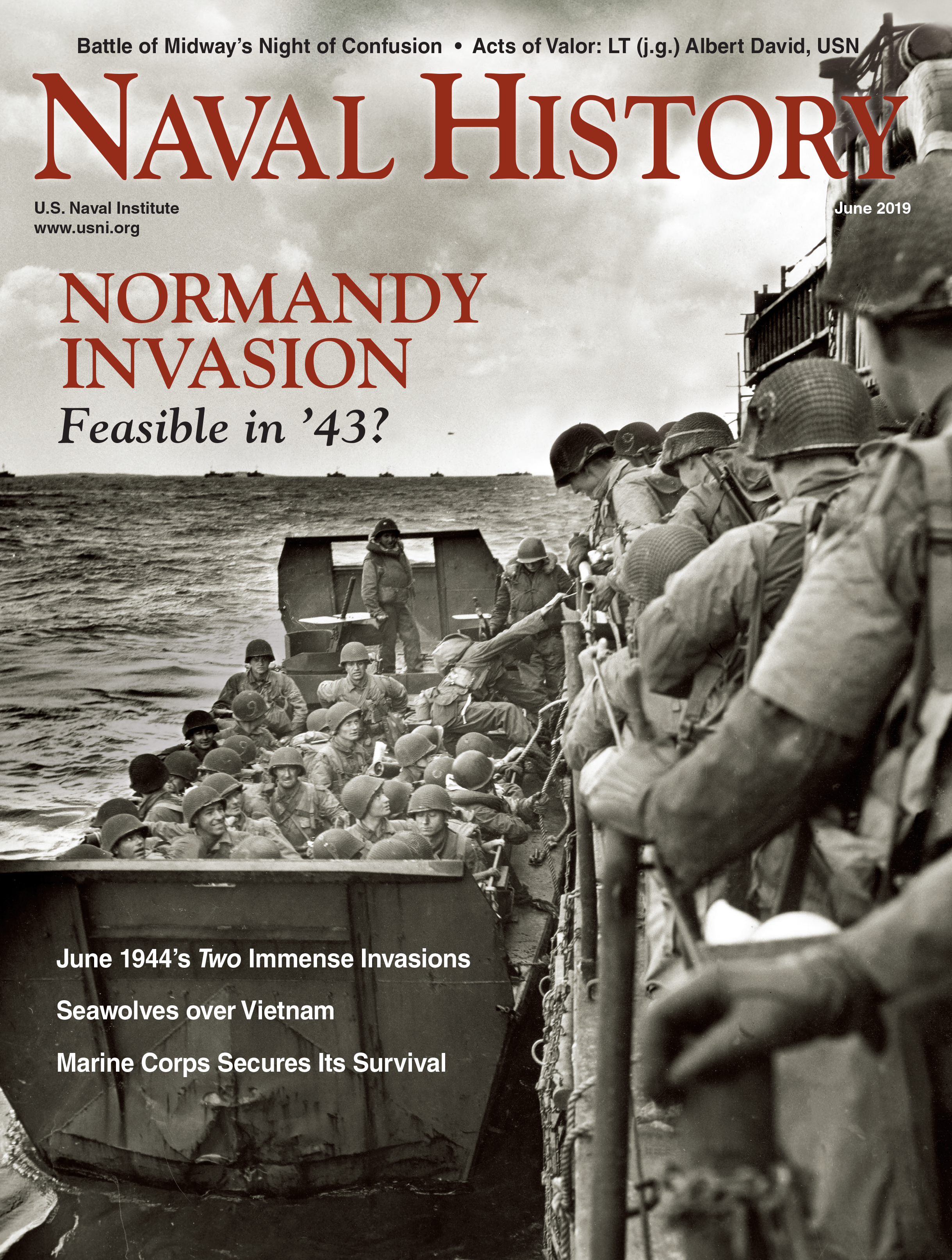 Naval History Magazine - June 2019 Volume 33, Number 3 Cover