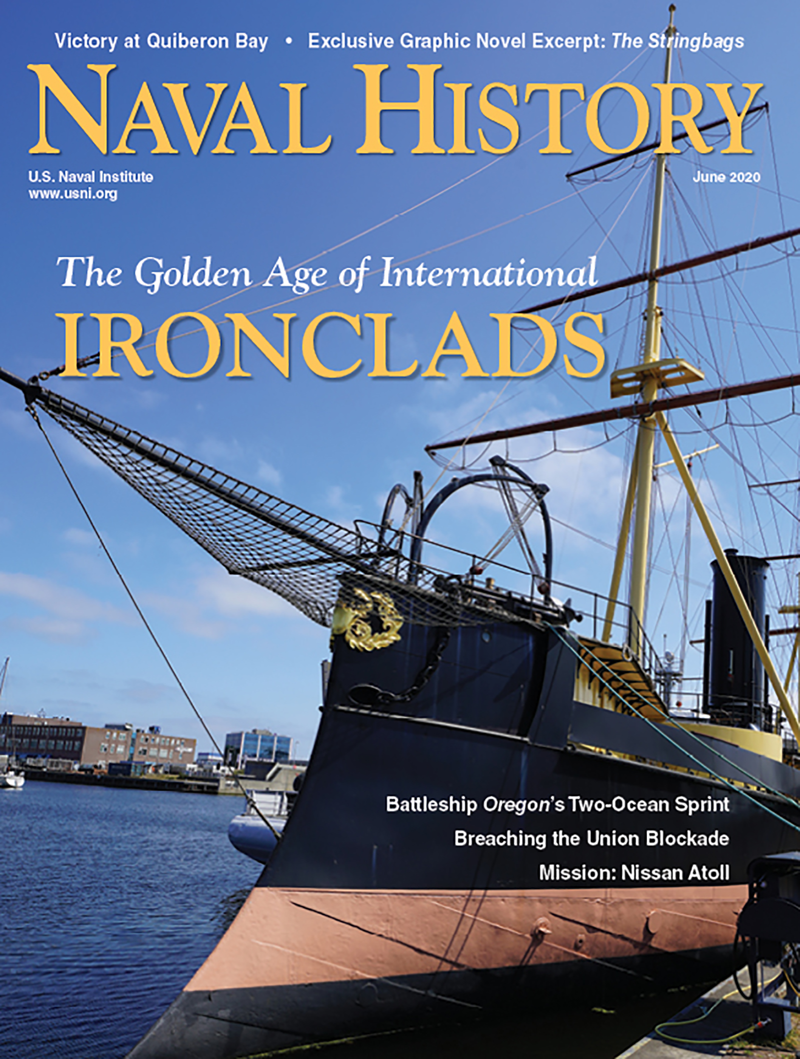 Naval History June Cover