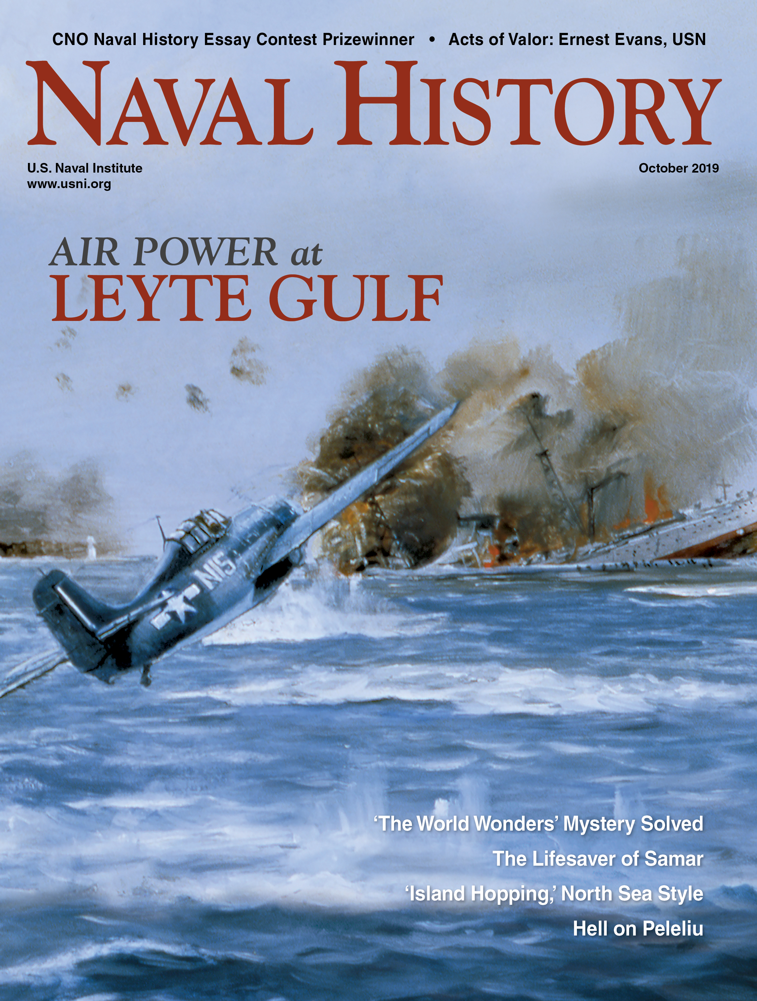 Naval History Magazine - October 2019 Volume 34, Number 5 Cover