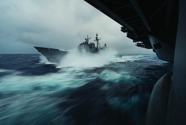 In the long calm lee of midway us naval institute fandeluxe Choice Image