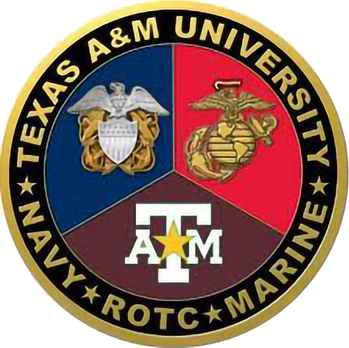 Texas A&M University NROTC Logo