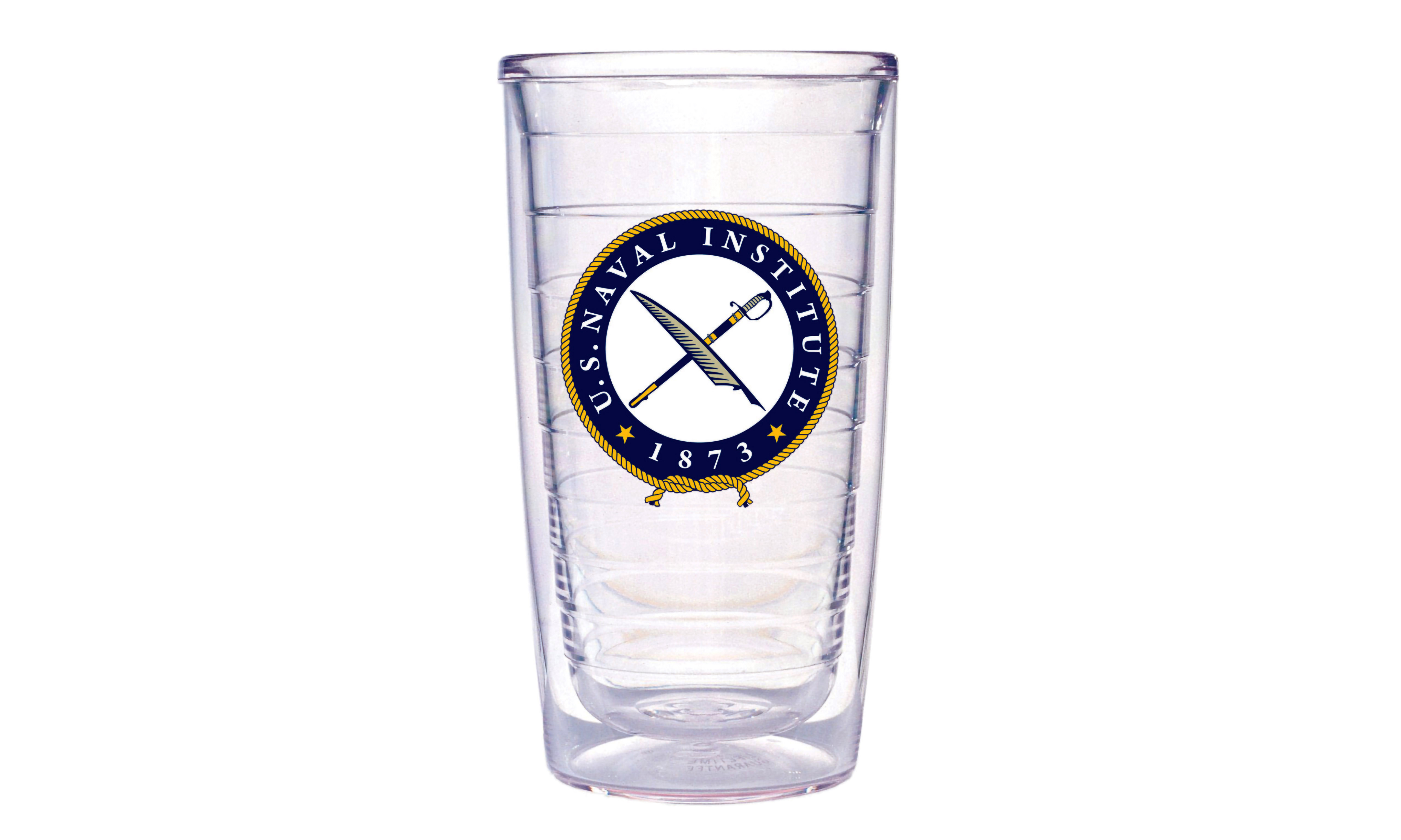 U.S. Naval Institute Tervis Tumbler Front View