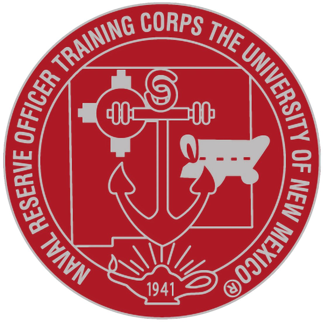 University of New Mexico NROTC Logo
