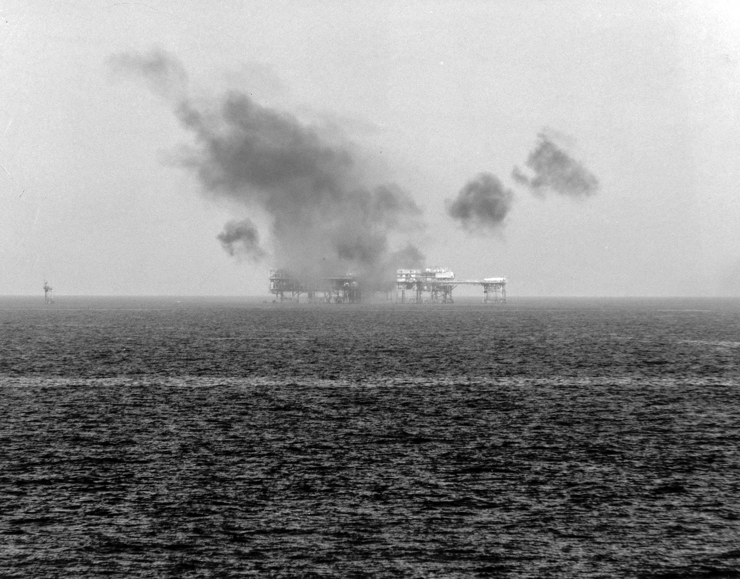 Attack on the Iranian Sassan oil platform in 1988