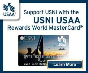 The card that rewards you and the Naval Institute