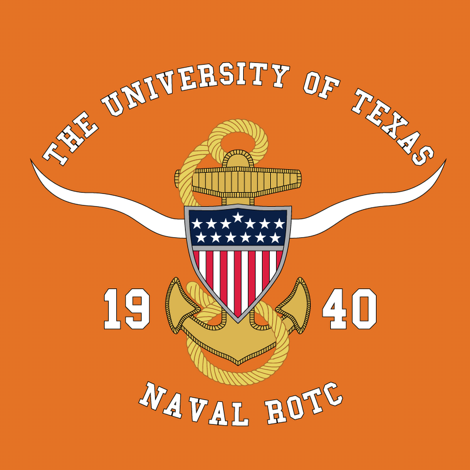 University of Texas NROTC Logo