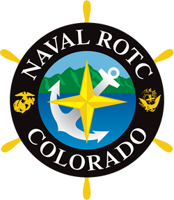 University of Colorado at Boulder NROTC Crest