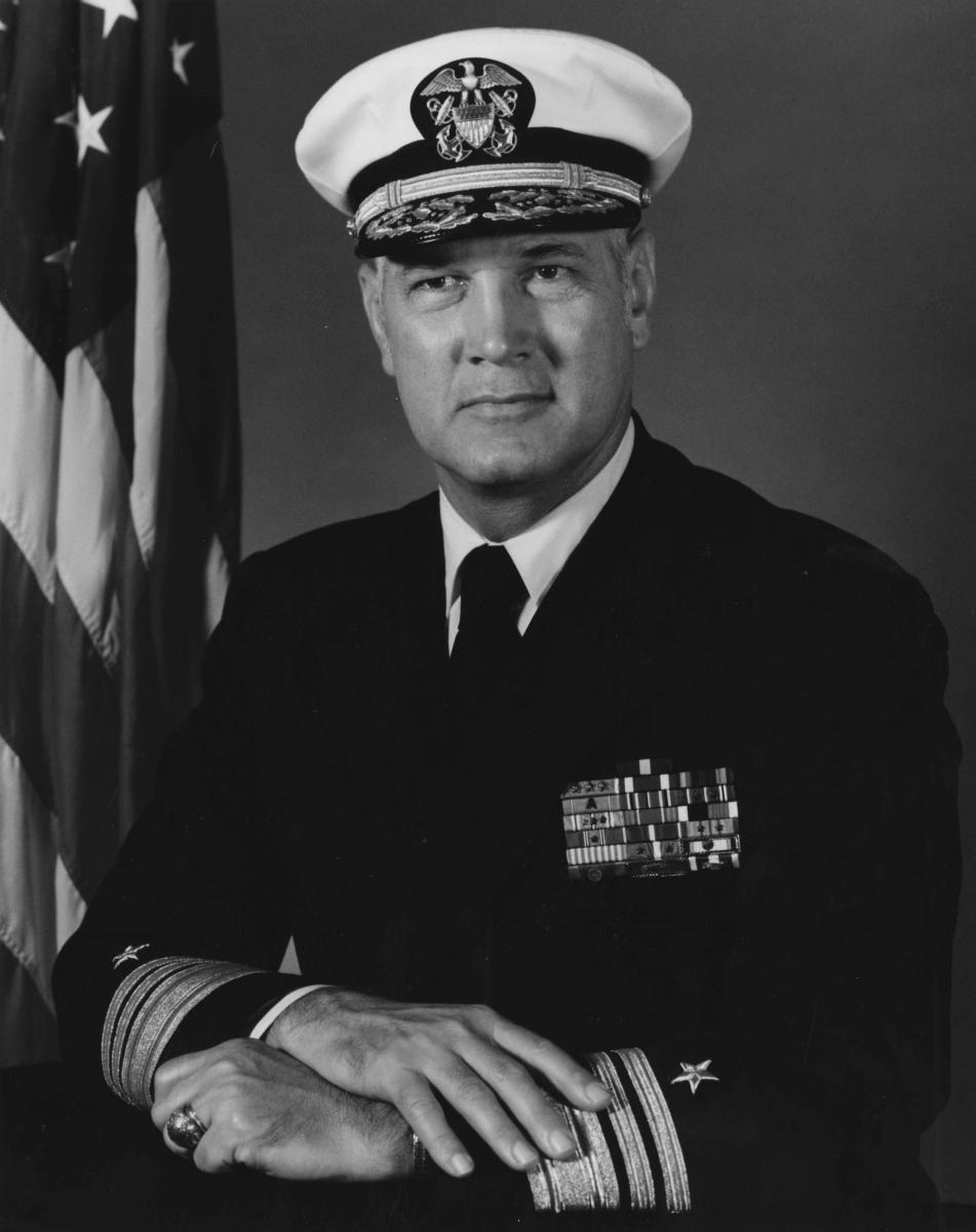 Vice Admiral Thomas R Weschler USN Ret