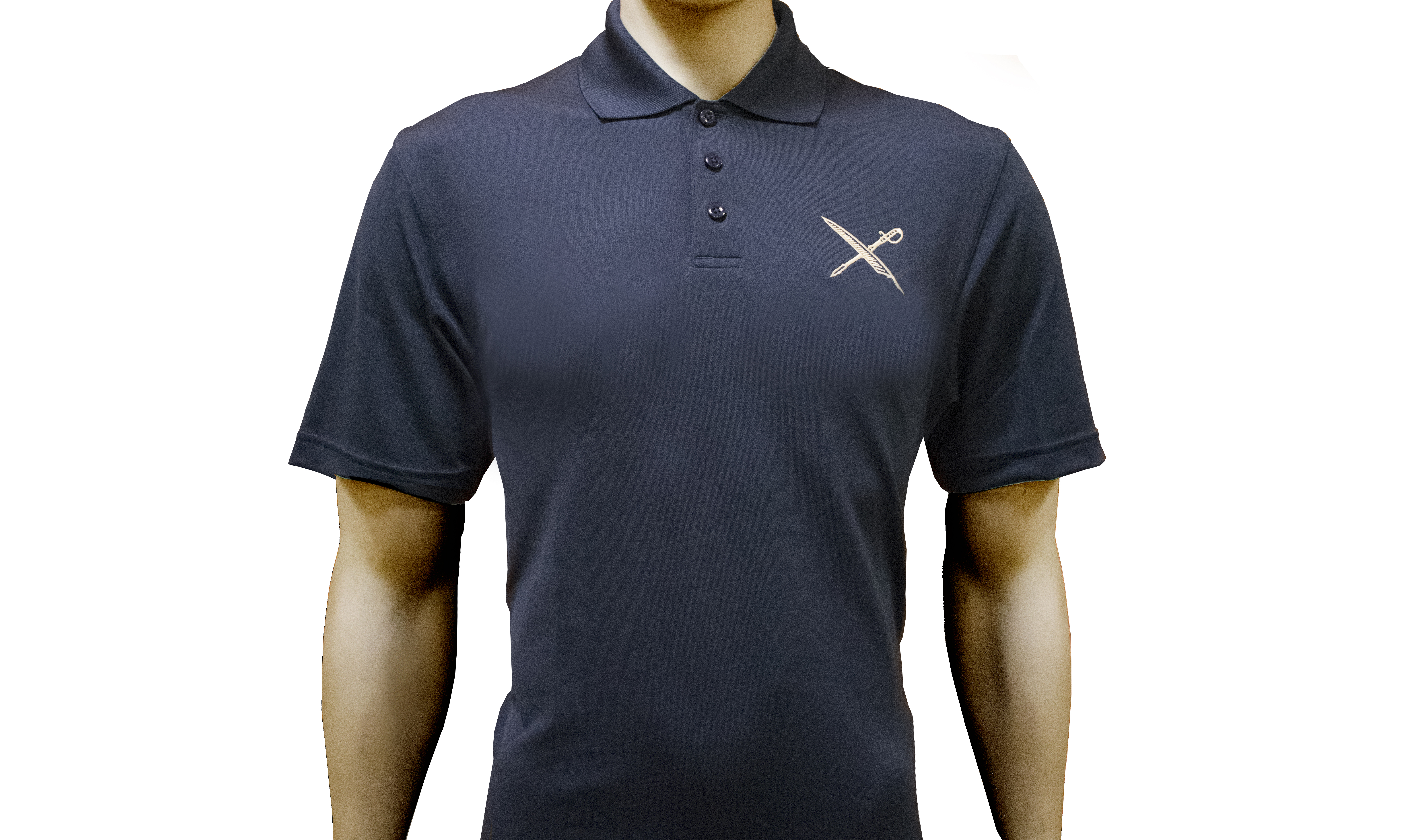 U.S. Naval Institute Men's Polo Shirt by Under Armour® Front View