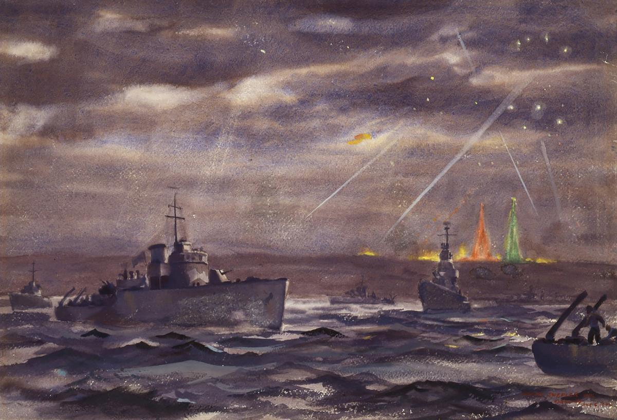 The Gallant Destroyers of D-Day | Naval History Magazine - June 2004