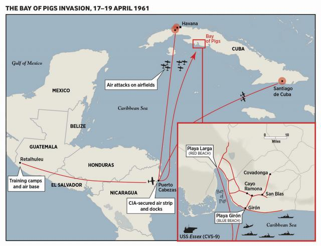 The Bay of Pigs Invasion, 17–19 April 1961