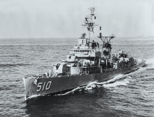 Smoot's ship, the destroyer USS Eaton (DDE-510), provided naval support to the Bay of Pigs invasion.