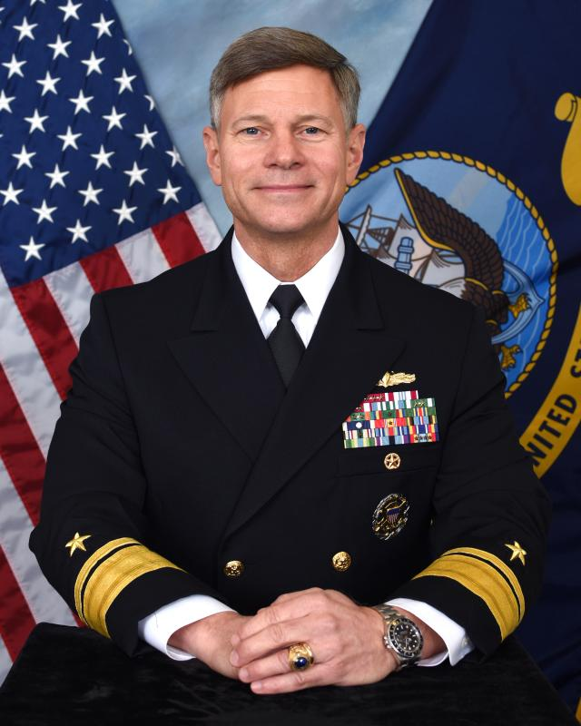RADM James T. Loeblein, USN