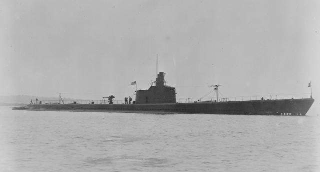 The Halibut, a Gato-class submarine, was launched just four days before the attack on Pearl Harbor.