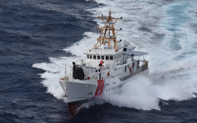The Coast Guard's Sentinel-class fast response cutter has the range and endurance to fight in the Pacific, a capable   to support inshore operations, the capacity to carry a variety of unmanned systems, and the space for powerful weapons that could level the playing field with China.