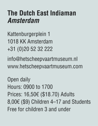 The Dutch East Indiaman Amsterdam visiting information