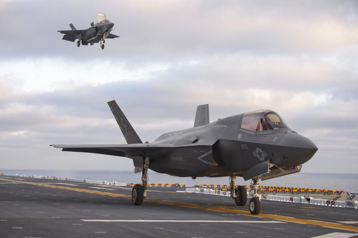 F-35Bs on the USS Essex