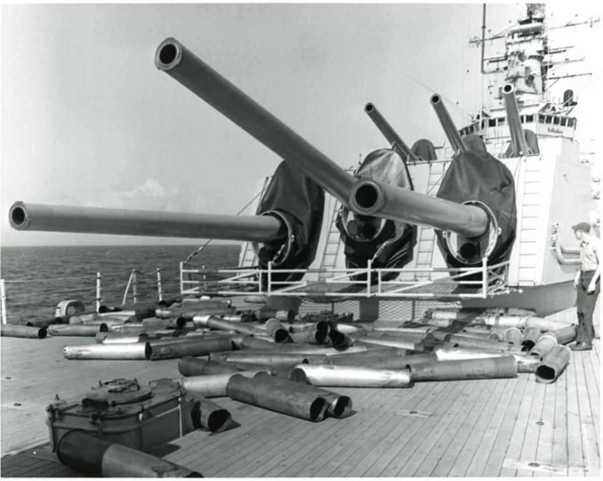 Armaments & Innovations - Last of the 8-inch Cruiser Guns   Naval