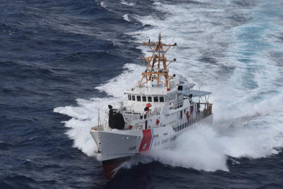 The Coast Guard's fast response cutters (FRCs) are replacing its Island-class patrol boats, but the FRCs have far greater capabilities than the platform they are replacing.