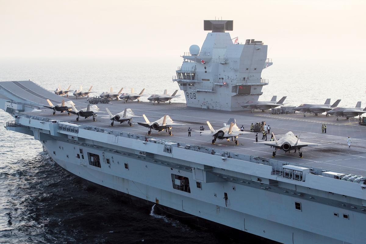 HMS Queen Elizabeth's Indo-Pacific Deployment | Proceedings - March 2021  Vol. 147/3/1,417