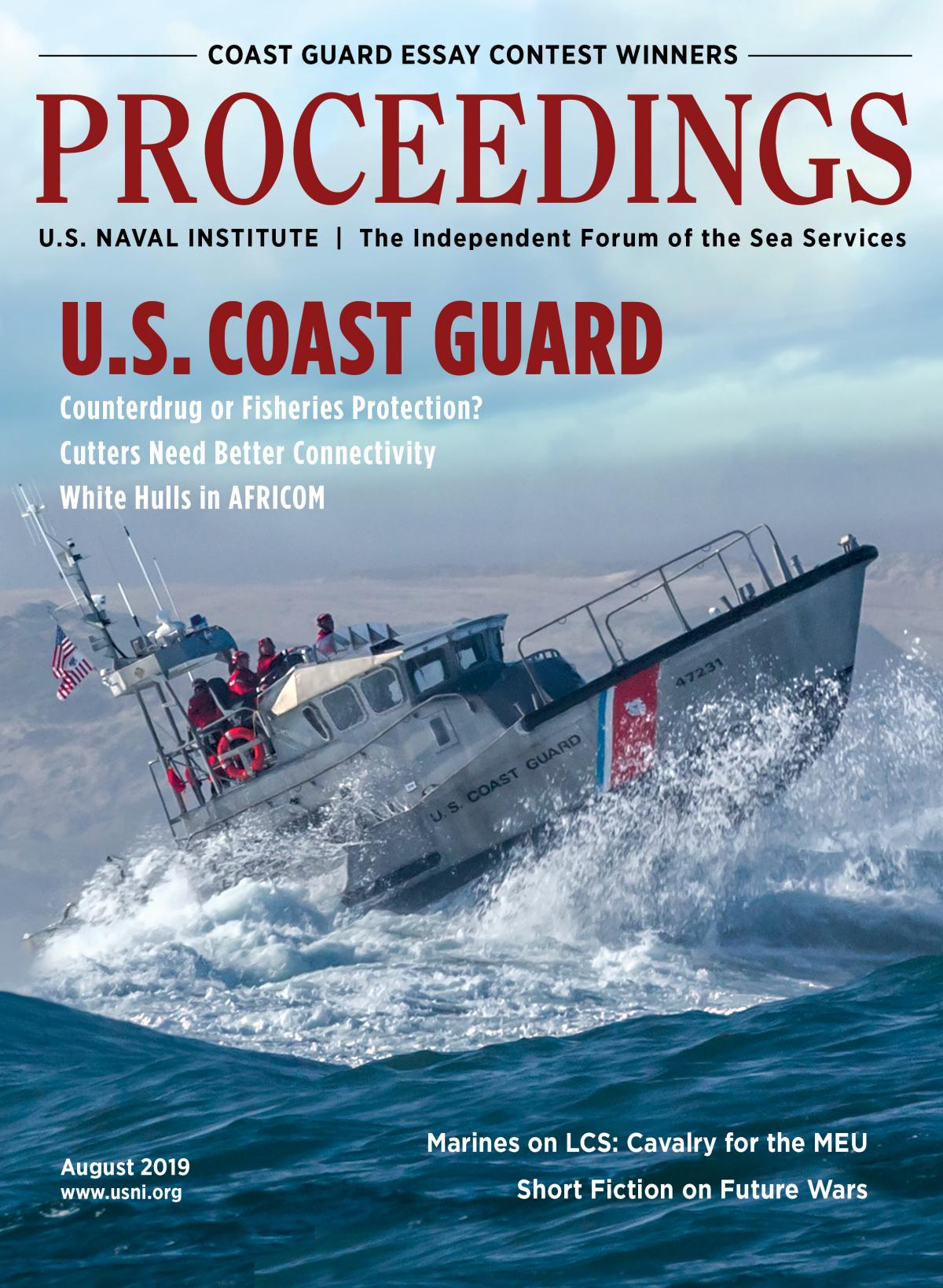 Proceedings - August 2019 Vol. 145/8/1,398 Cover