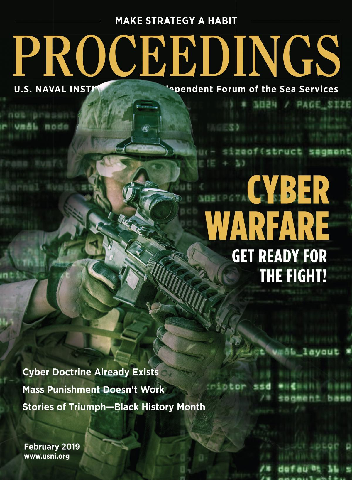 Proceedings Magazine - February 2019 Vol. 145/2/1,392 Cover