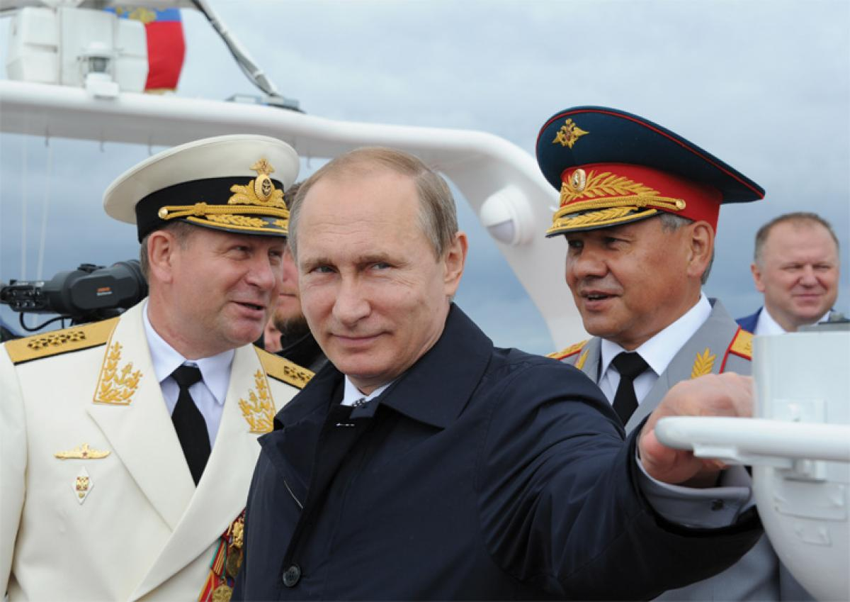 Putin's 'Potemkin-Plus' Navy | Proceedings - May 2016 Vol