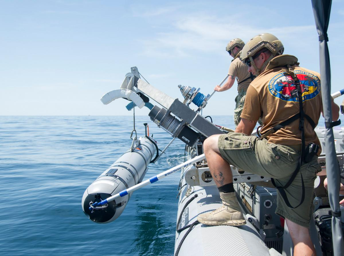 Expeditionary mine countermeasures companies must be restructured to prepare the Navy for realistic mine threats.