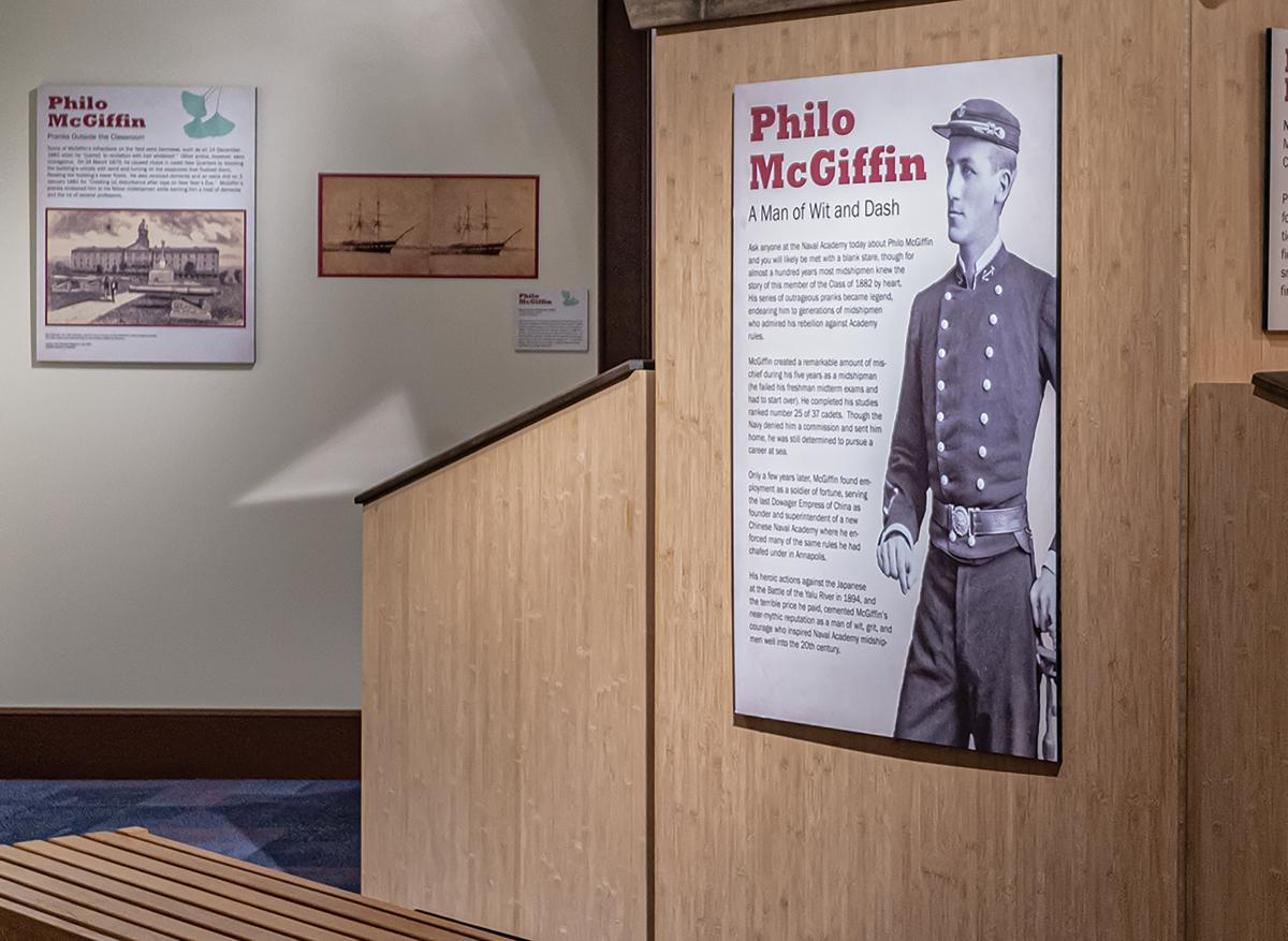 Philo McGiffin: A Man of Wit and Dash Exhibit