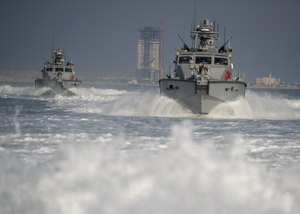 The Navy's Mark VI patrol boats would make a good replacement for the Coast Guard's 87s, as they are similar in size and have similar mission capabilities.