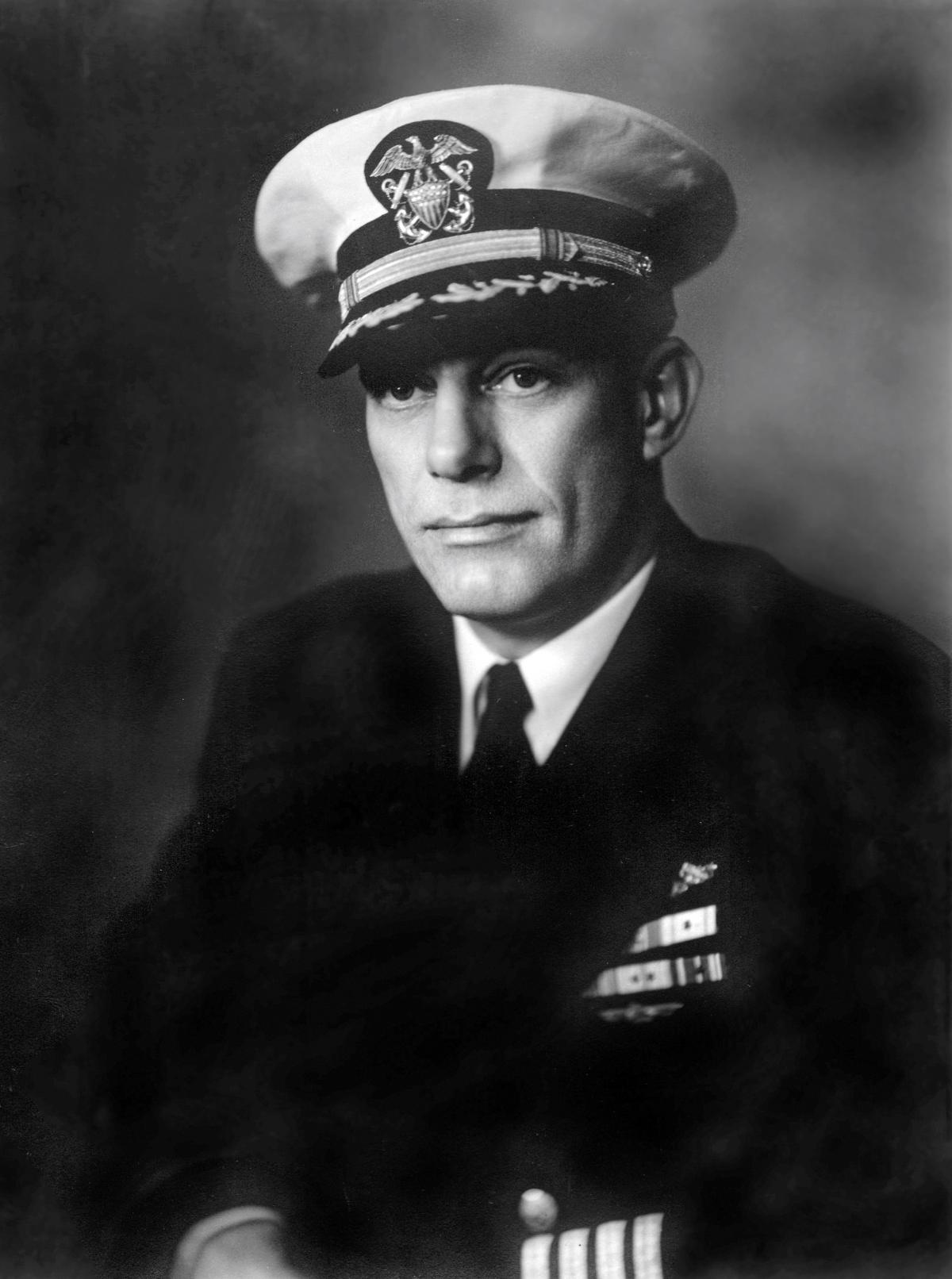 Portrait of Lieutenant Commander John Murphy, U.S. Navy