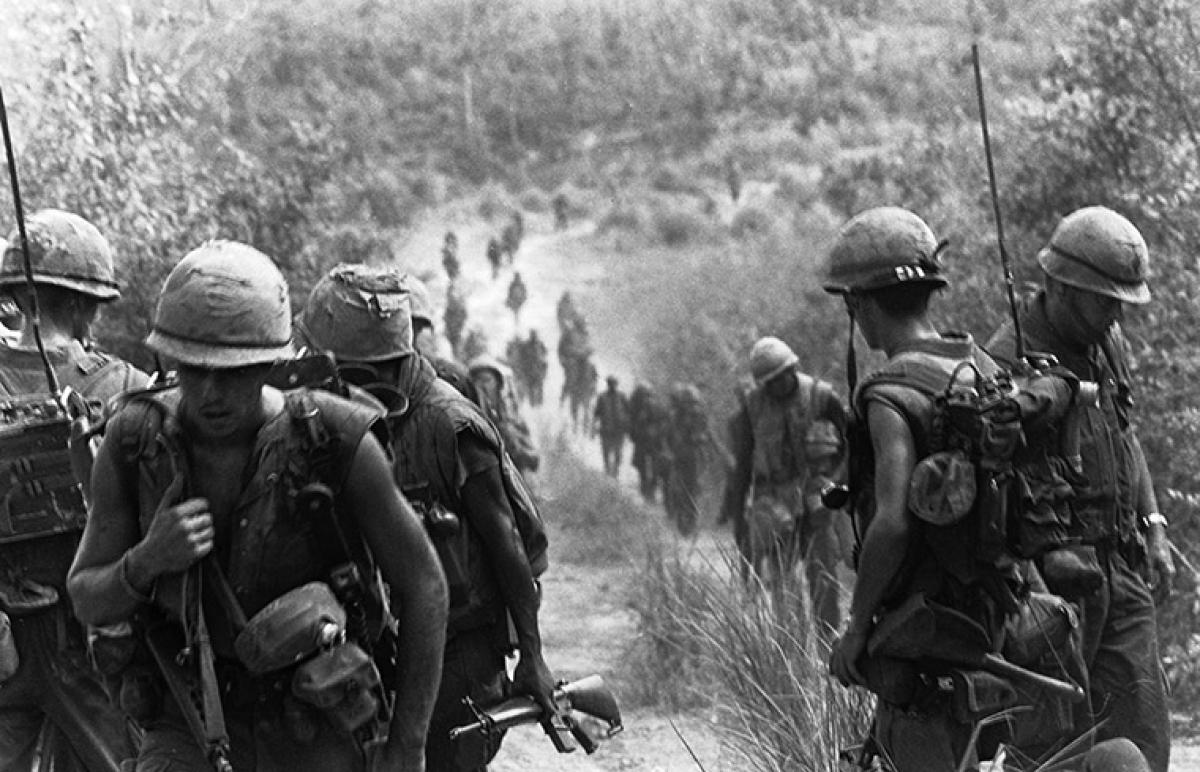 The Marines' Vietnam Commitment | Naval History Magazine ... on map korea dmz 1967 1968, map of vietnamese demilitarized zone, map of dmz korea,