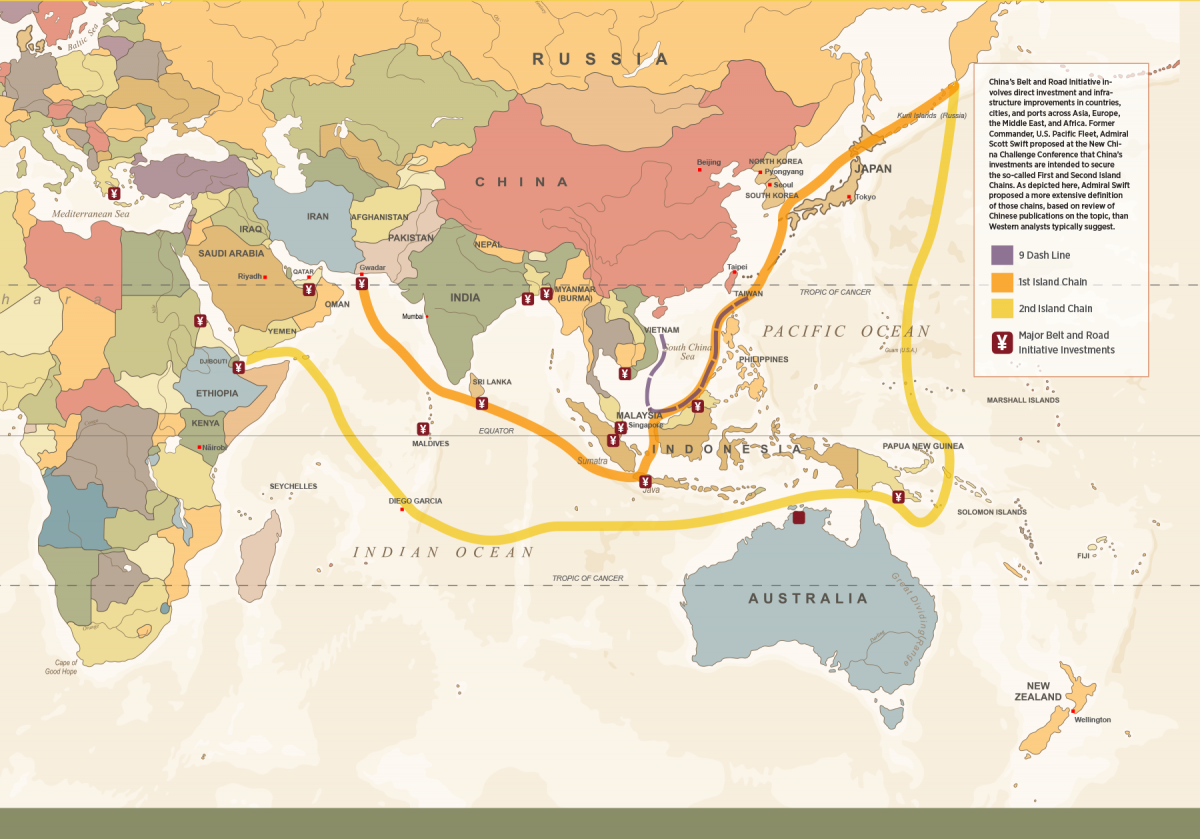 Map Of Australia 26th Parallel.Can China And The United States Avoid War Proceedings December