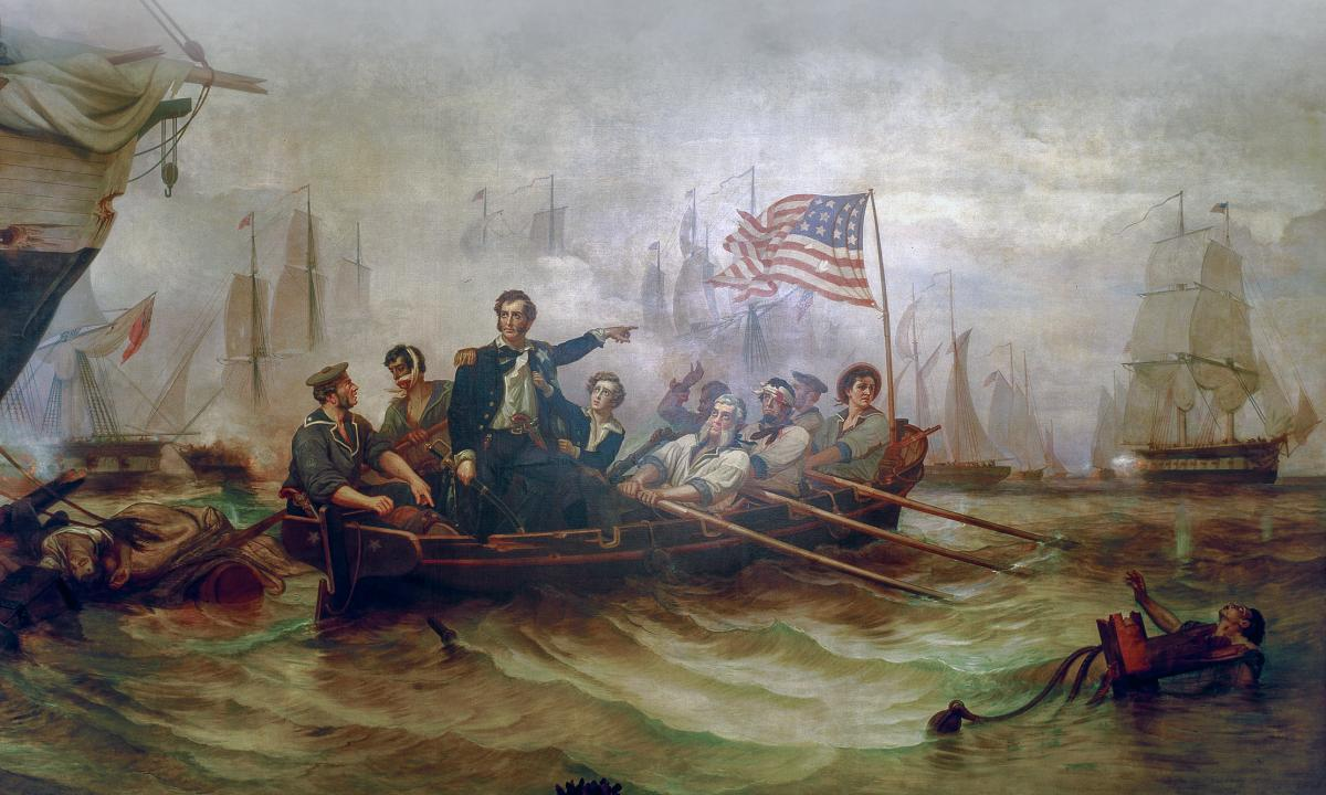 "Powell's ""Perry's Victory on Lake Erie"""