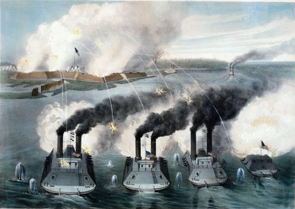 confederate ironclad ship name