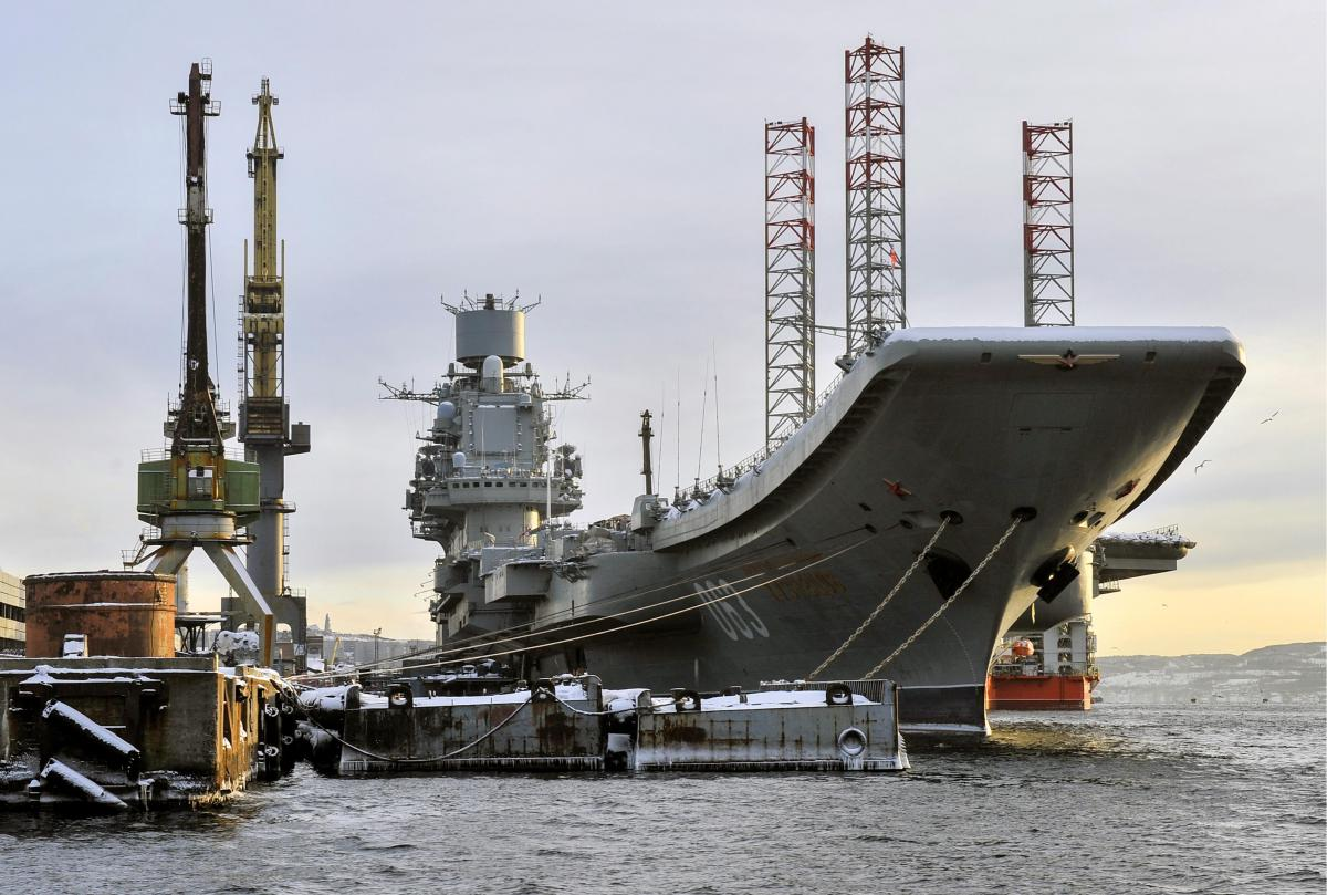 Russia's Only Aircraft Carrier—A 2nd Lease on Life or a Slow Death?   Proceedings - July 2019 Vol. 145/7/1,397