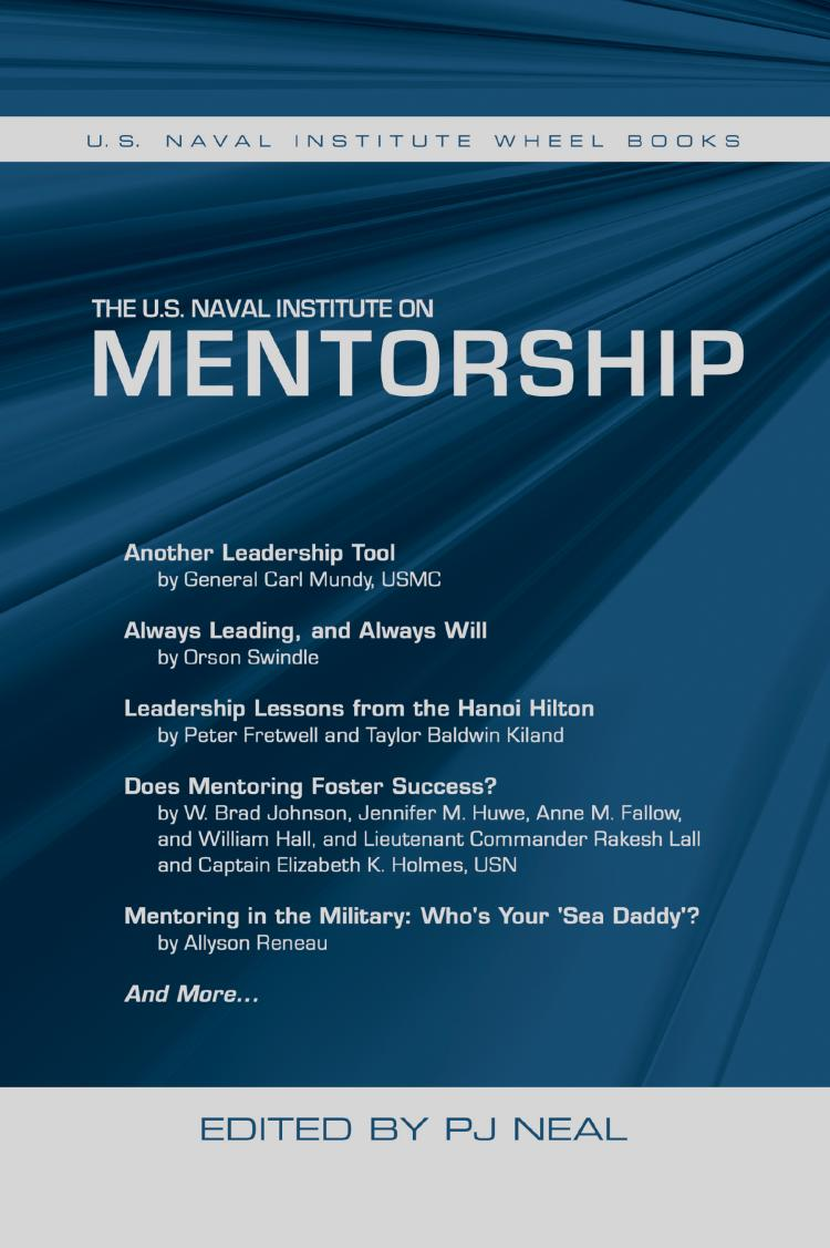 U.S. Naval Insitute on Mentorship Cover