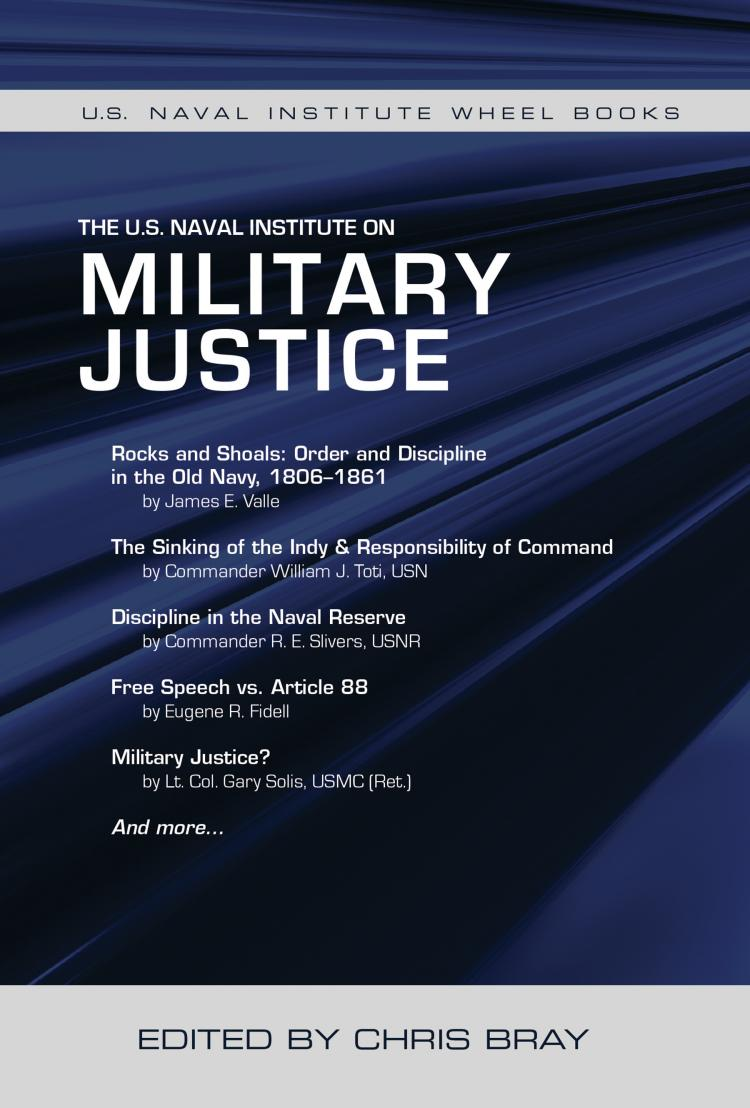 The U S  Naval Institute on Military Justice | U S  Naval