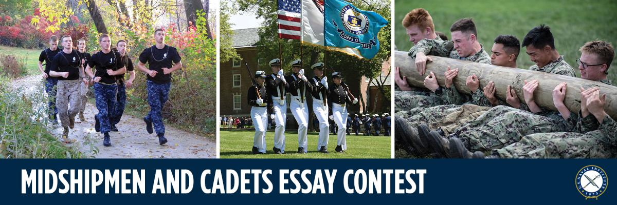 2019 Midshipmen and Cadets Essay Contest Promo
