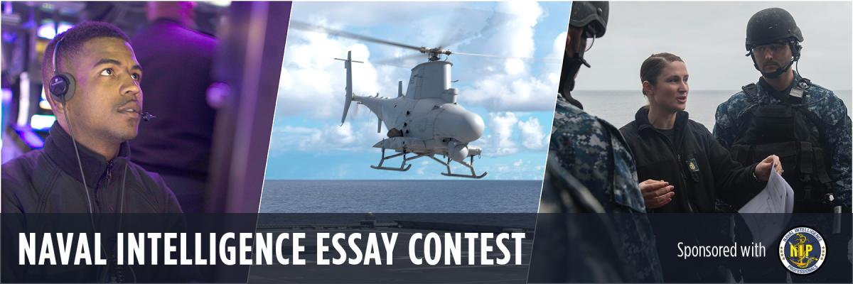2019 Naval Intelligence Essay Contest Banner