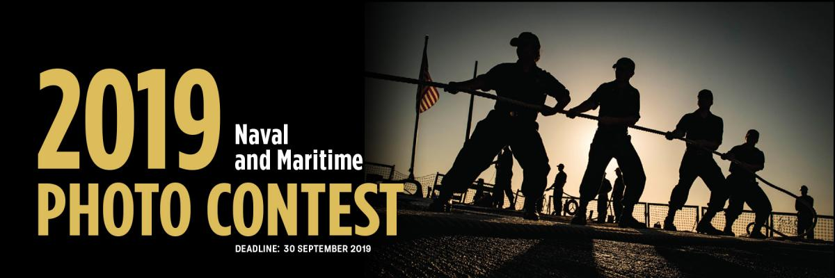 2019 Naval and Maritime Photo Contest Banner