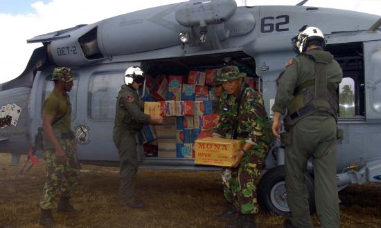 Navy humanitarian mission 2005