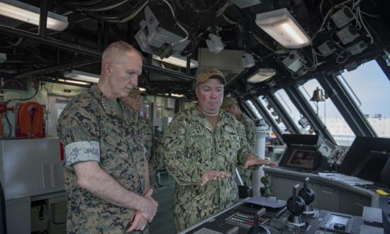 Navy and Marine officer