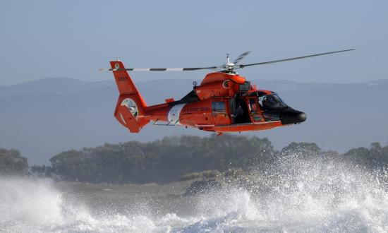 Coast Guard MH-65 Helicopter