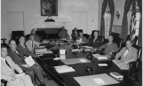 Truman with National Security Council